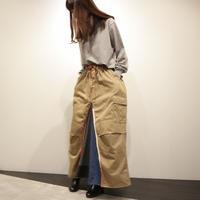 rehersall リメイクスカート(beige①)