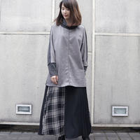 NOWYOUKNOW 切り替えプルオーバー(ivory,gray)