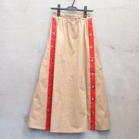 tranoi サイドスナップスカート(beige)