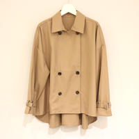 NOWYOUKNOW トレンチシャツ(beige)