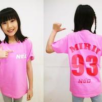 17期生 北口キャロライン美利衣 背番号Tシャツ