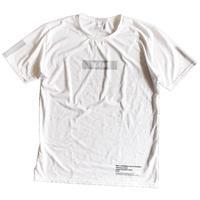 ボックスロゴ トレーニングドライTシャツ ホワイト