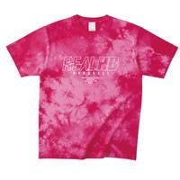 タイダイTシャツ ピンク