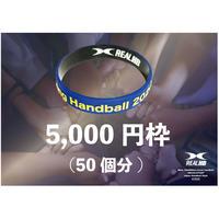 LINKバンド5,000円応援枠(50個分)