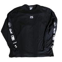 コットンビッグシルエットロングTシャツ ブラック