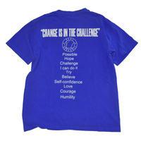 ピグメント ブルー Tシャツ