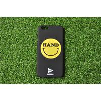 iphoneケース  HAND スマイル ブラック ★iPhone対応 5/5s/SE 5c 6/6s 6Plus/6sPlus 7 7plus 8 8plus/X★