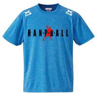 ヘザーブルー ドライTシャツ