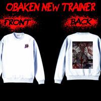 【NEW!!】オバケン トレーナー『飢エ』