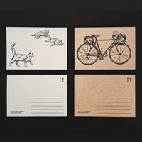 Letterpress Postcard 2set
