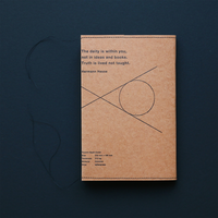 Book Cover < Brown >