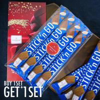 \ご購入いただくと、無料でもう1セット(4本)プレゼント!/【ニーダーエッガー】マジパンスティック ミルクチョコレート 4本セット