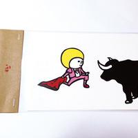 ポストカード:闘牛