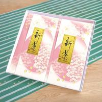初摘み新茶「狭山昔」化粧箱入 2袋