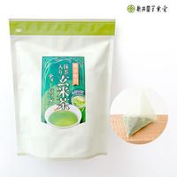 抹茶入り玄米茶ティーバッグ「徳用玄米茶ティーバッグ」5g×50p