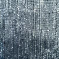 単衣   絽   ブルーグレーに白の柳柄   z104