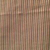 袷 正絹 スモークピンクに抹茶×辛子色の縞柄 z137