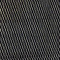 正絹 絽 紺地 白の斜めよろけ縞柄 z93