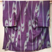 正絹 袷 小紋・板締絞りz53