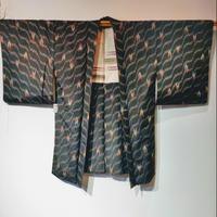 羽織 アンティーク 銘仙・矢絣h6