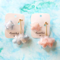 雲イヤリング/ Fluffy Cloud Earring