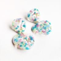 フルーツ寒天ピアス/ Fruit Jelly Stud Earring