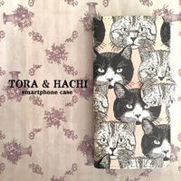 iPhone手帳型ケース(CATS)/ Book-style iPhone case