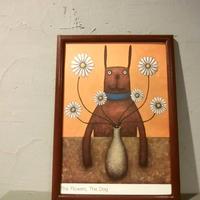 Tatsuhiko Karasawa A4ポスター九州熊本チャリティ(4枚セット)/ Illustration work by Tatsuhiko Karasawa