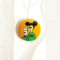 kyorome 缶バッチ 仲良しクラブ/ tin badge