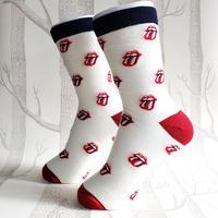 ROCKSOCK White/ ladies socks