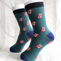 ROCKSOCK Deep  Green/ ladies socks