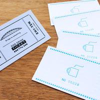 活版印刷 ドリンクチケット