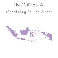 【インドネシア】マンデリン ポルン・アルフィナー - 100g
