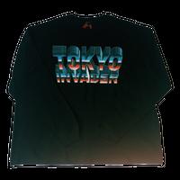 """"""" TOKYO INVADER """" Long Sleeve T-shirt ( original tag print )"""