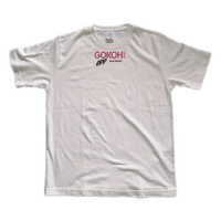 """ GOKOH "" Logo T-shirt / OFF-WHITE"