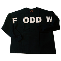 """ ODDFW "" Long Sleeve T-shirt ( original tag print )"