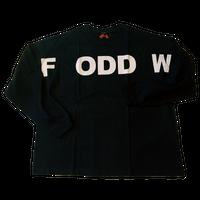 """ ODDFW "" Long Sleeve T-shirt ( original tag print )"
