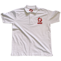 """ ODD FOOT WORKS "" Logo Polo shirt  ( original tag print )"