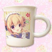 【恋二、甘味ヲソエテ2】「星ヶ丘シエル」九谷焼マグカップ