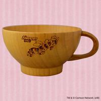 【パワーパフ ガールズ】紀州漆器_スープ用マグカップ