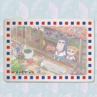 ポプテピピック_九谷焼アートパネル6(スタンド付き)