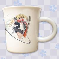【複製サイン入り限定ノベルティ付き】「MtU」九谷焼マグカップ