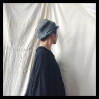 knit hat   gray    /    p cnq