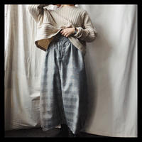 wool balloon pants / original