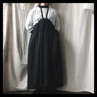 wool apron one-piece / original