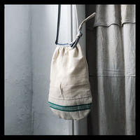vintage linen pocket / original