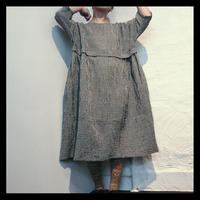 Linen one-piece check / pub