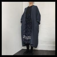 linen gown coat / pub