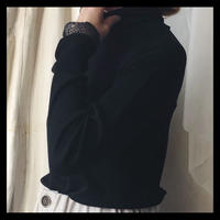 turtleneck  shirt / gasa*grue