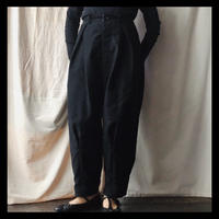 wide tucked pants / GASA*